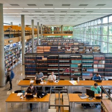 The university library