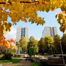 Der Campus Stadtmitte und die Kollegiengebäude KI und KII